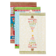 Holiday 3-pc. Assorted Kitchen Towel Set