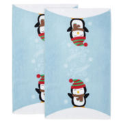 Holiday Penguin Set of 2 Kitchen Towels