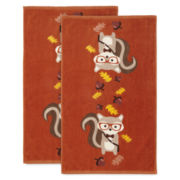 Harvest Squirrel Set of 2 Kitchen Towels
