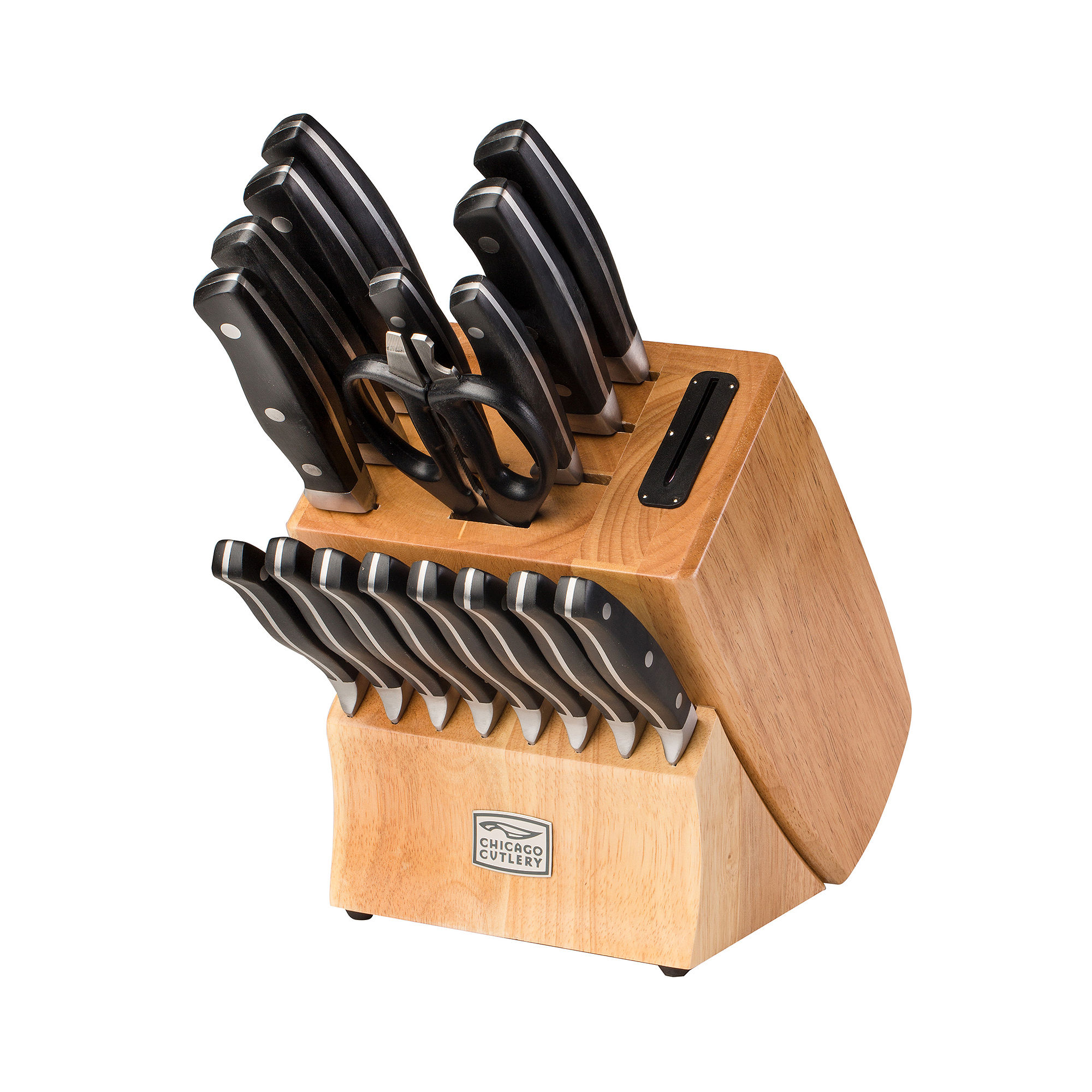 Chicago Cutlery Insignia2 18 Piece Block Set With In Block