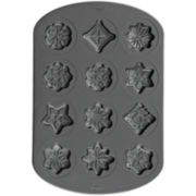 Wilton® Snowflake and Stars Nonstick Cookie Pan