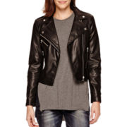 MNG by Mango® Faux-Leather Moto Jacket