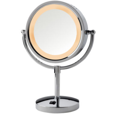 jcpenney.com | Jerdon Style Lighted Tabletop Mirror with Outlet