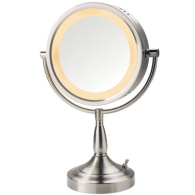 jcpenney.com | Jerdon Style Halo-Lighted Tabletop Mirror