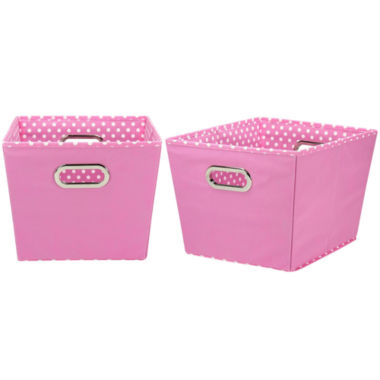jcpenney.com | Household Essentials® Set of 2 Medium Tapered Storage Bins