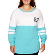 City Streets® Long-Sleeve Sweatshirt - Plus