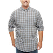 The Foundry Supply Co.™ Easy-Care Poplin Shirt - Big & Tall