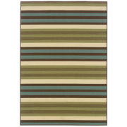 Montego Stripe Indoor/Outdoor Rectangular Rug