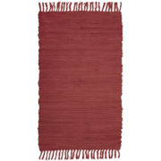 Agra Solid Washable Cotton Rectangular Rugs