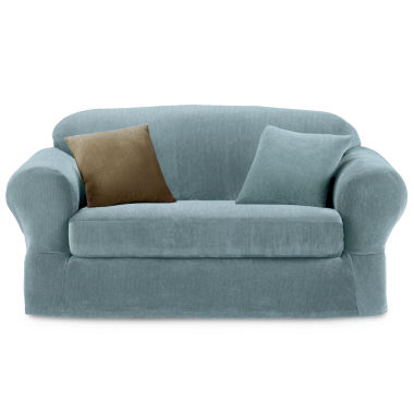 jcpenney.com | Maytex Smart Cover® Collin Stretch 2-pc. Sofa Slipcover