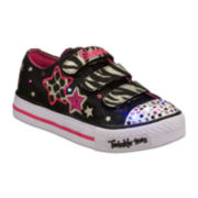 Skechers® Triple Up Girls Casual Shoes - Little Kids