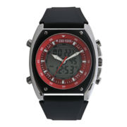 Zoo York® Zyana Analog/Digital Silicone Strap Watch