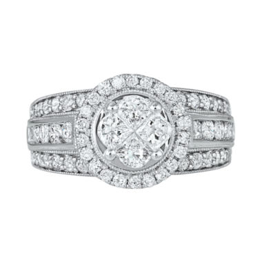 jcpenney.com | Harmony Eternally in Love 2 CT. T.W. Certified Diamond Engagement Ring