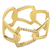 PALOMA & ELLIE Pavé Crystal Interlocking Link Bangle