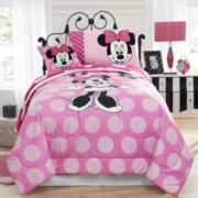 Disney Minnie Comforter & Accessories