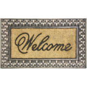 Koko Framed Basketweave Coir Doormat