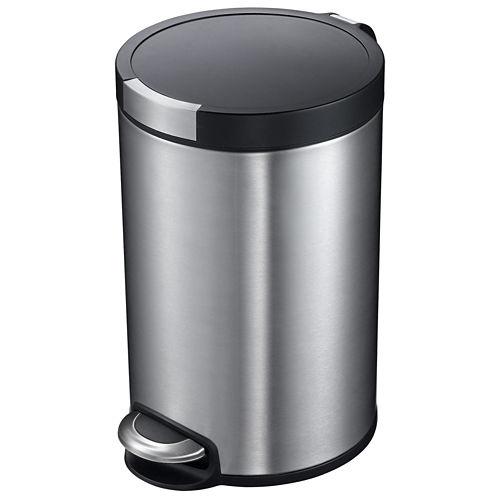 EKO® 5L Artistic Round Step Trash Can