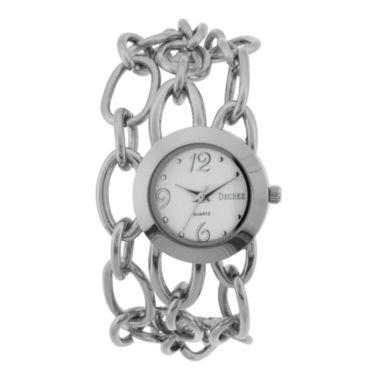 jcpenney.com | Decree® Metal Chain or Leather Watch
