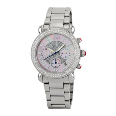 jcpenney.com | JBW Victory Womens Diamond-Accent Stainless Steel Bracelet Watch JB-6210-160-C
