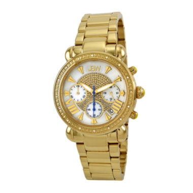 jcpenney.com | JBW Victory Womens 1/6 CT. T.W. Diamond Gold-Tone Stainless Steel Bracelet Watch JB-6210-A