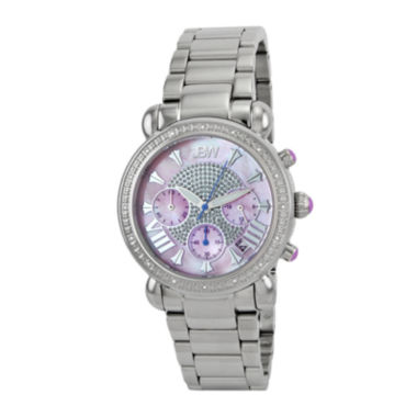 jcpenney.com | JBW Victory Womens 1/6 CT. T.W. Diamond Stainless Steel Bracelet Watch JB-6210-F