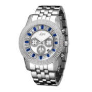 JBW Krypton Mens 1/3 CT. T.W. Diamond Stainless Steel Watch JB-6219-B