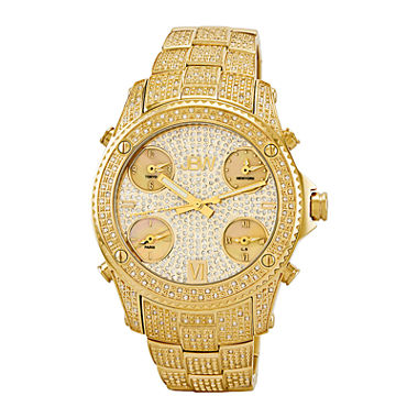 gold and diamond watches for mens best watchess 2017 jbw jet setter mens 3 ct t w diamond gold tone stainless steel