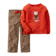 Carter's® Animal-Print Cat Pajamas - Baby Girls newborn-24m
