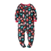 Carter's® Fleece Hot Chocolate Bodysuit - Baby Girls 12m-24m