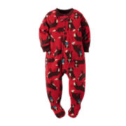 Carter's® Fleece Dog-Print Bodysuit - Baby Boys newborn-24m
