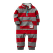Carter's® Striped Jumpsuit - Baby Boys newborn-24m