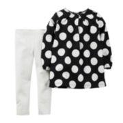 Carter's® Polka Dot Tunic and Leggings - Baby Girls newborn-24m