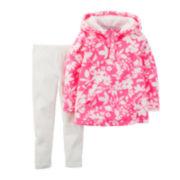 Carter's® Hoodie and Leggings - Baby Girls newborn-24m