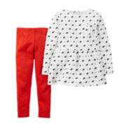 Carter's® Scottie Tunic and Leggings - Baby Girls newborn-24m