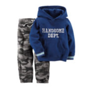 Carter's® Handsome Hoodie and Camo Pants - Baby Boys newborn-24m