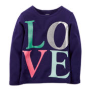 Carter's® Long-Sleeve Graphic Tee - Preschool Girls 4-6x