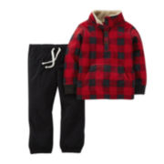 Carter's® Pullover Sweatshirt and Pants - Toddler Boys 2t-5t