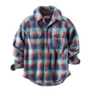 Carter's® Plaid Button-Front Shirt - Preschool Boys 4-7