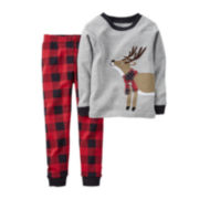 Carter's® Reindeer Pajamas - Toddler Boys 2t-5t