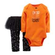 Carter's® Bodysuit and Tutu Leggings - Baby Girls newborn-24m