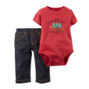 Carter's® Wilderness Bodysuit and Jeans - Baby Boys newborn-24m