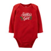 Carter's® Santa's Girl Bodysuit - Baby Girls newborn-24m