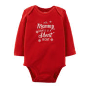 Carter's® Silent Night Bodysuit - Baby Girls newborn-24m