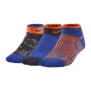 Nike® 3-pk. Graphic Low-Cut Socks - Boys