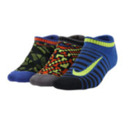Nike® 3-pk. Graphic No-Show Socks - Boys