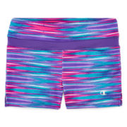 Champion® Side-Slit Athletic Shorts - Girls 7-16
