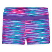 Champion® Side-Slit Athletic Shorts - Girls 7-16