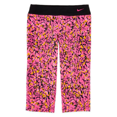 jcpenney.com | Nike® Legend Tight-Fit Capri Pants - Girls 7-16