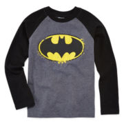 Batman Graphic Raglan Tee - Preschool Boys 4-7
