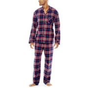 Stafford® Flannel Pajama Set - Big & Tall